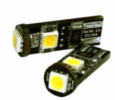 C5W MTF 12V  LED 5000K 1шт с обманкой светодиодная лампа
