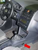 замок КПП EUROLOCK 713 для VW Caddy/Touran