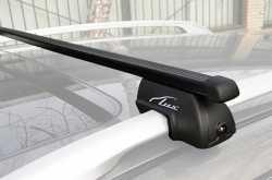 Lux багажник с дугами 1,4м стандарт для а/м с рейлингами