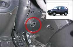 замок на руль Sentry Spider для Chevrolet NIVA