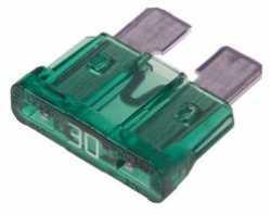 Предохранители Littelfuse 0CAM030.T с индикатором mini 30A