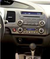 CARAV 11-063 переходная рамка магнитолы для Honda Civic 2007-2011