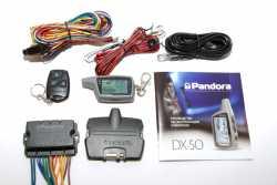 Pandora DX 50B автосигнализация с автозапуском