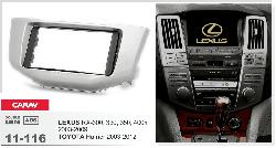 CARAV 11-116 переходная рамка магнитолы для Lexus, Toyota