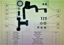замок КПП Mul-t-lock MTL 2325 Skoda Octavia авто. 2013-