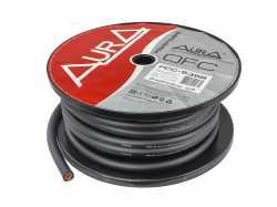 Aura PCC-535B медный силовой кабель 2AWG (35мм2) чёрный