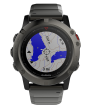 Garmin fenix 5x Sapphire Slate Gray with Metal Band GPS (010-01733-03)