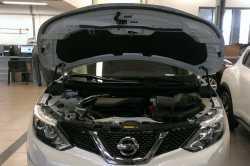 Упоры капота для Nissan Qashqai  New 2014- 2шт KU-NI-QK02-00