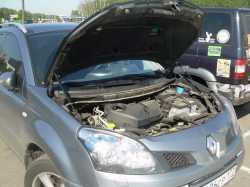 Упоры капота для Renault Logan 2009-2014 2шт KU-RE-LO00-02