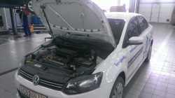 Упоры капота для VW Polo 2009- 2шт KU-VW-PL00-02