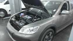 Упоры капота для Chevrolet LacettiI 2004-2013- 1шт KU-CH-LA00-00