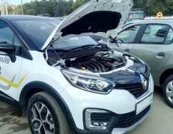 Упоры капота для Renault Kaptur 2016- 2шт KU-RE-KP00-00