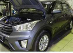 Упоры капота для Hyundai Creta 2016- 2шт KU-HY-CR00-00