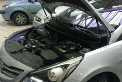 Упоры капота для Hyundai Solaris 2010-2016- 2шт KU-HY-SL00-00