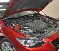Упоры капота для Mazda 6 New 2012- 2шт KU-MZ-0612-00
