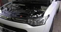 Упоры капота для Mitsubishi Outlander III 2012- 2шт KU-MI-OU03-00