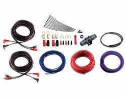 Урал 4Ga-BV4KIT комплект проводов для 4-кан усилителя 4AWG