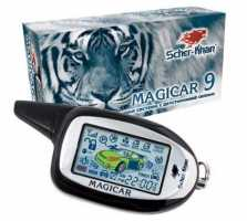 Scher-Khan Magicar 9 автосигнализация с автозапуском