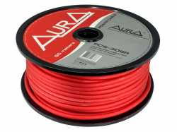 Aura PCS-308R силовой кабель 8AWG (8мм2) красный