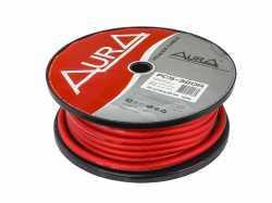 Aura PCS-320R силовой кабель 4AWG (20мм2) красный