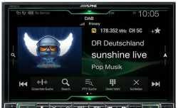 Alpine X802D-U автомагнитола с навигацией