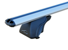 Lux багажник с дугами 1,2м аэро 52 для а/м с рейлингами
