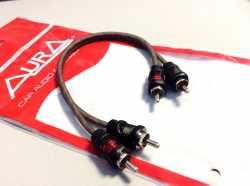 Aura RCA-0205 межблочный кабель RCA 0,5м