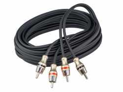 Aura RCA-B250 межблочный кабель RCA 5м