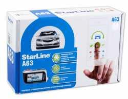 StarLine A63 автосигнализация