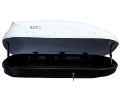 Lux Flagman белый глянец 370л бокс 844123