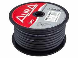 Aura PCC-T20B медный силовой кабель 4WG (20мм2) чёрный
