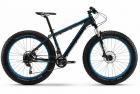 HaiBike 2016 FatCurve 6.20 20S, Deore black mat\blue\bk_45cm 4167220645 велосипед