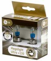 H11 GE 12V-55W 2шт Megalight Ultra+130 93040088