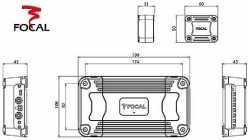 Focal FDS 4.350 усилитель 4-канальный