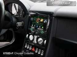 Alpine X702D-F автомагнитола с навигацией