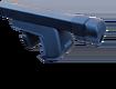 Nord Classic багажник с дугами 1,2м прямоугольными в пластике для а/м с рейлингами