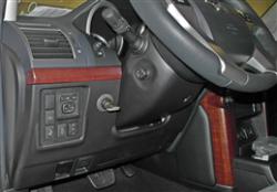 Гарант Форт 38002/1.N замок на руль бесштыревой для Toyota LC 150 2012+