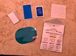 Защитная плёнка на зеркало waterprof membrane Small 2шт