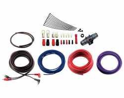 Урал 4Ga-BV2KIT комплект проводов для 2-кан усилителя 4AWG