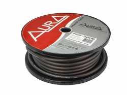 Aura PCS-320B силовой кабель 4AWG (20мм2) чёрный