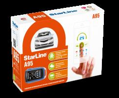 StarLine A95 BT 2CAN+2LIN автосигнализация с автозапуском
