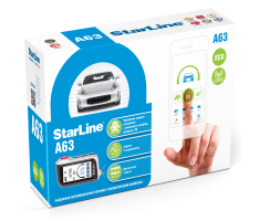 StarLine A63 GSM ECO автосигнализация