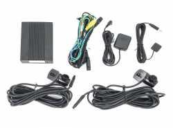 Incar VR-750 видеорегистратор для скрытой установки с двумя камерами