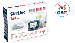 StarLine A94+F1 автосигнализация с автозапуском с установкой