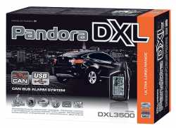 Pandora DXL 3500i автосигнализация с автозапуском