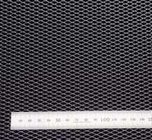 Сетка алюм. ромб RN10252 хром 100х25см