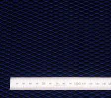 Сетка алюм. ромб RN16253 синяя 100х25см