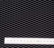 Сетка алюм. ромб RN16252 хром 100х25см