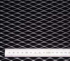 Сетка алюм. ромб RN25402 хром 100х40см