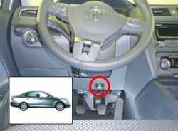 замок на руль Sentry Spider для VW Jetta 12-13
